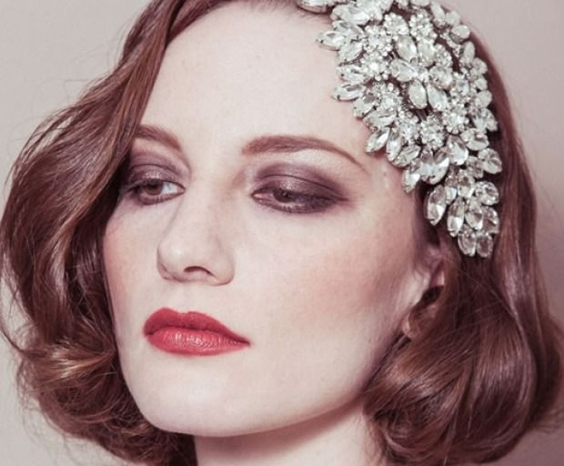 1920 Hairstyles 1920's Inspired Wedding Hairstyles  1920S Hairstyles Gatsby And