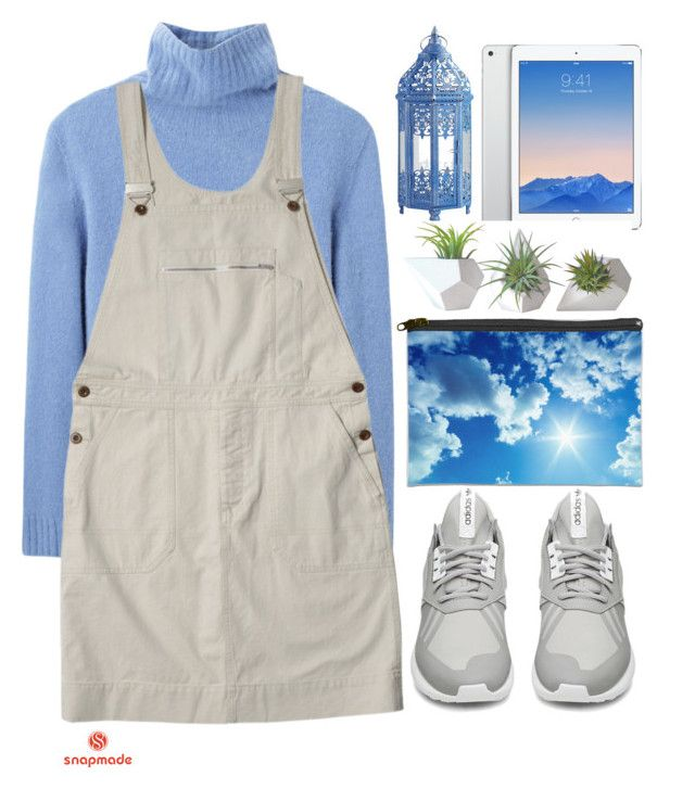 """""""#Snapmade"""" by credentovideos ❤ liked on Polyvore featuring Shin Choi, The Row, Pier 1 Imports, adidas and Dot & Bo"""