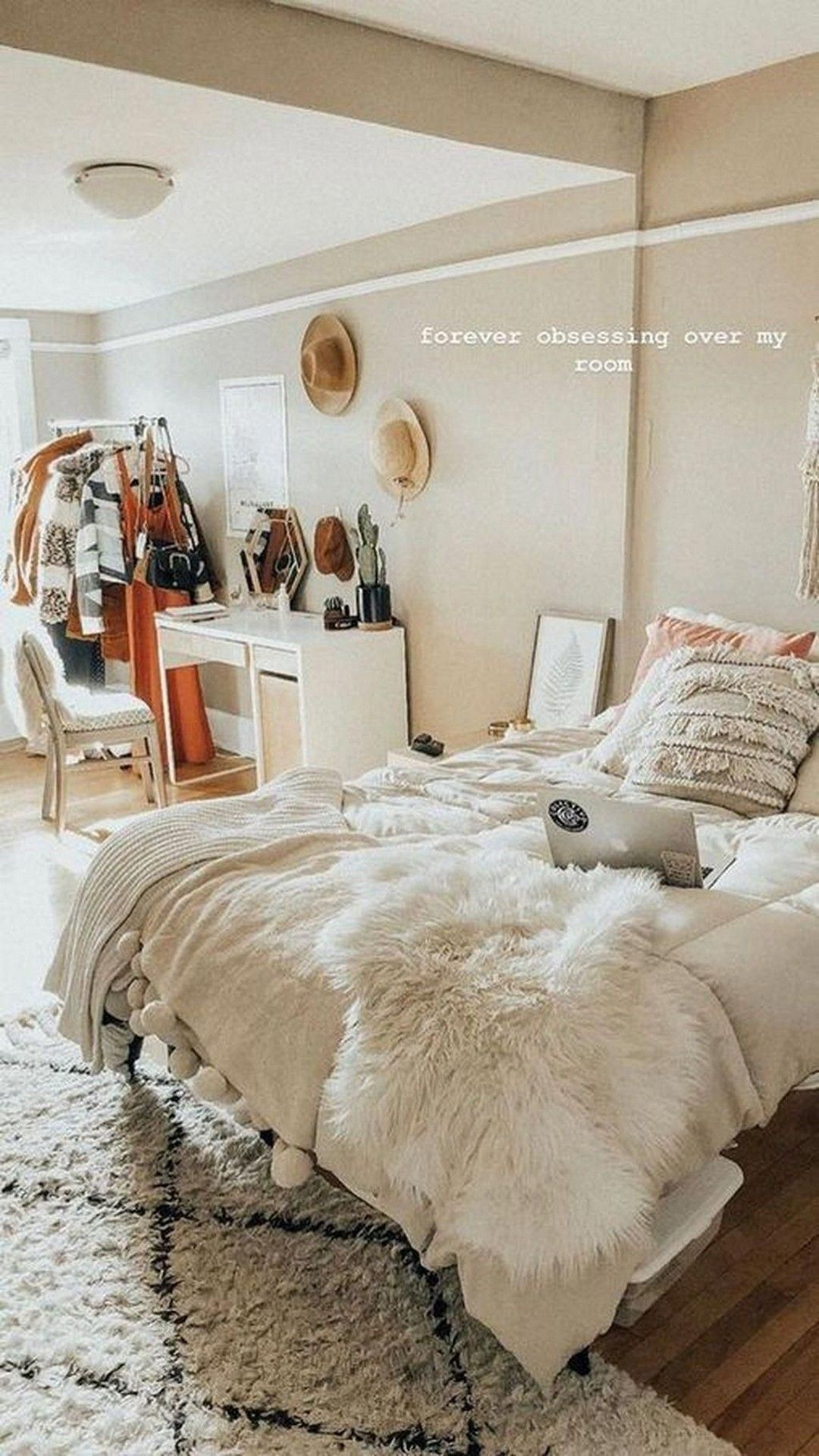 bedroominspo   Room inspiration, Minimalist bedroom design, Dream ...