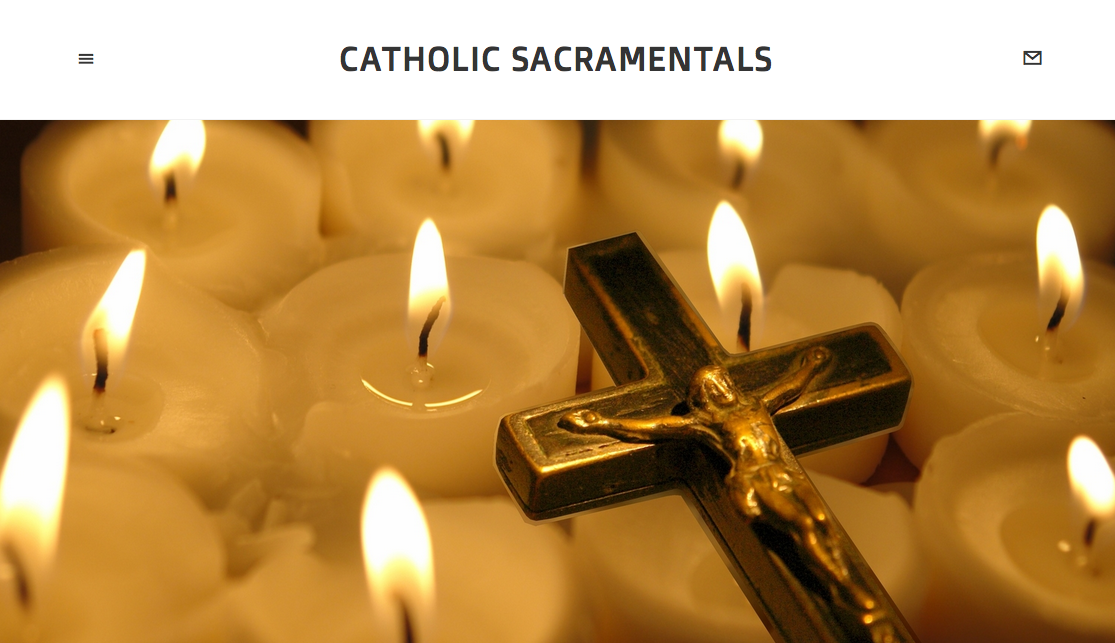 Excellent article about Catholic sacramentals.