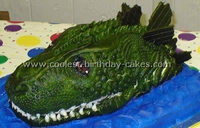 Cool Godzilla Cake Recipes