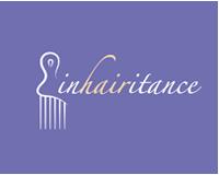 inhairitance, montreal, logo, comb, afro, black hair, women, curly, devachan