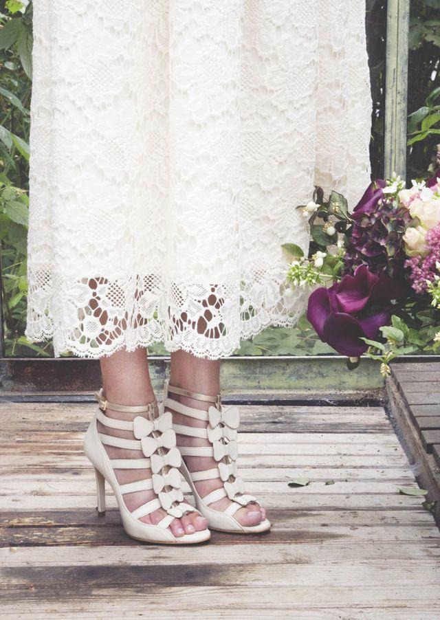 Les chaussures de mariée d'Élise Hameau pour CosmoParis | Glamour