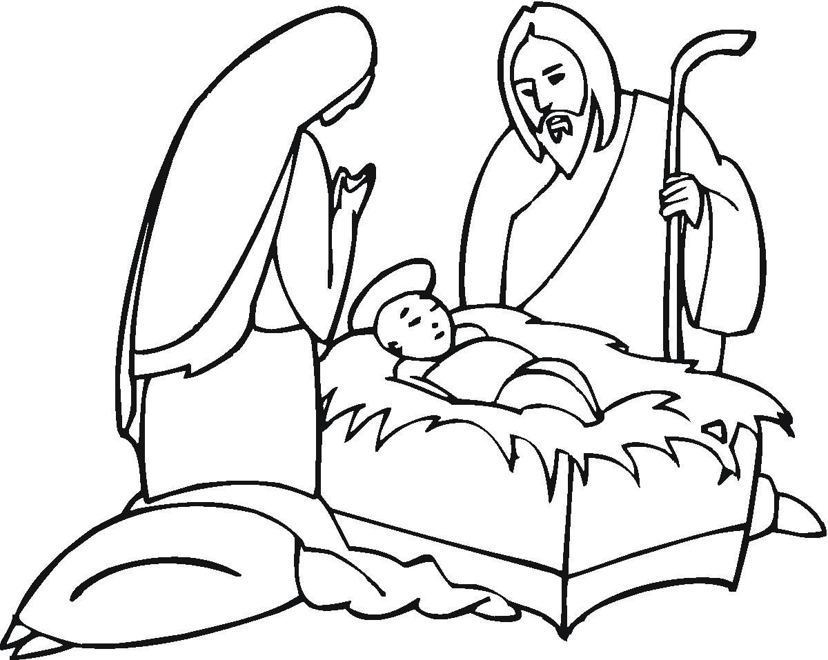 Coloring Pages Manger Scene Coloring Pages 1000 images about religious coloring pages on pinterest divine mercy and lady