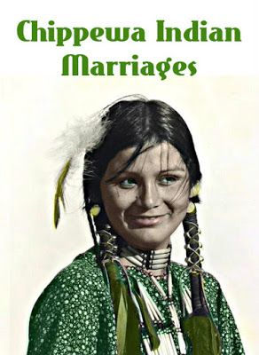 Photo of American Indian's History and Photographs: Ottawa and Chippewa Indian Marriage C…