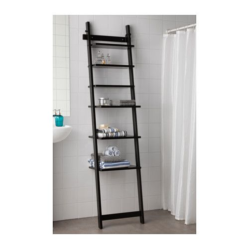 HJÄLMAREN Wall Shelf   Black Brown   IKEA I Would Probably See If I Could