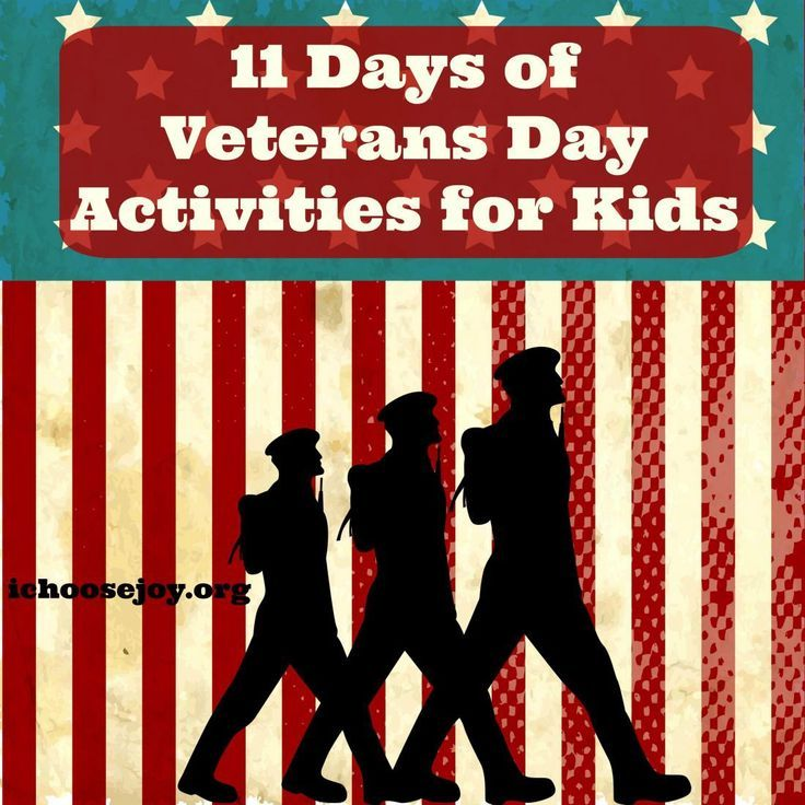 11 Days Of Veterans Day Activities For Kids Middle School Social
