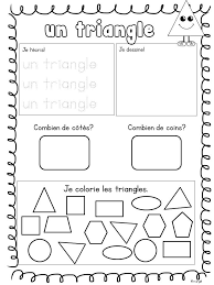 Resultado de imagen para les formes geometriques en francais