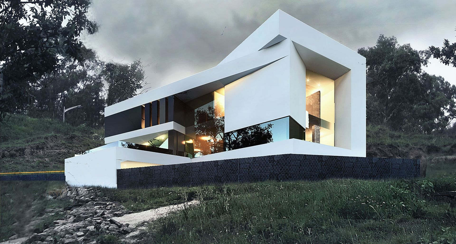 Pradera house creato arquitectos houses pinterest - Arquitectos casas modernas ...