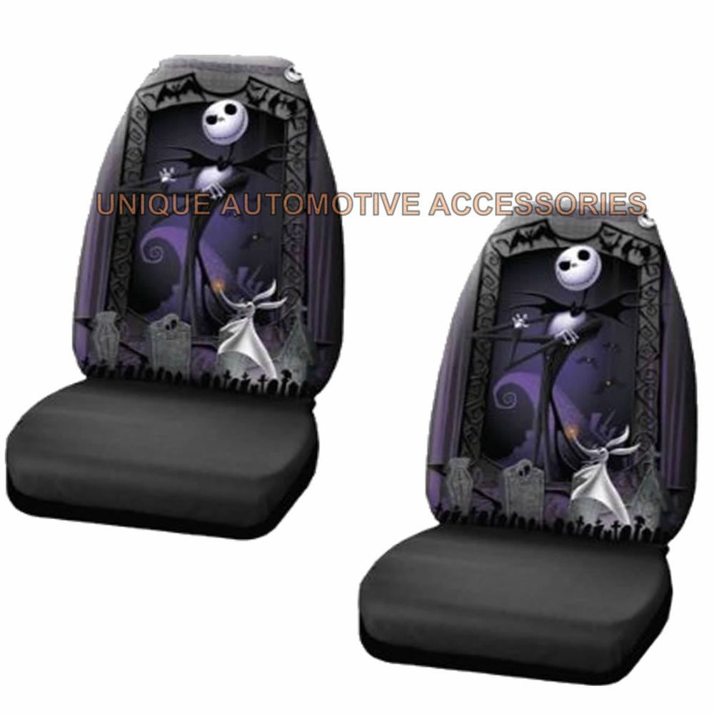Nightmare before Christmas NBC jack skellington seats & UAA Black ...