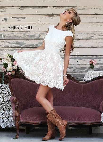 Cocktail dresses with boots images