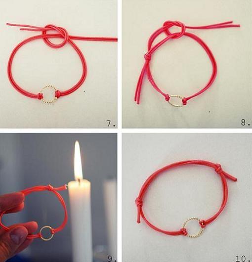 Como hacer pulseras de nudos images 17