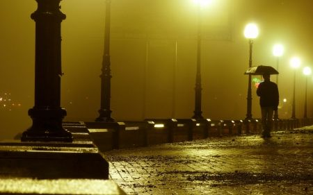 Walking Alone In A Rainy Night Desktop Nexus Wallpapers City Landscape Photography Photography Wallpaper City Landscape Rainy night hd wallpaper download