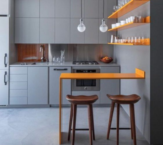 20 Recommended Small Kitchen Island Ideas on a Budget Floating