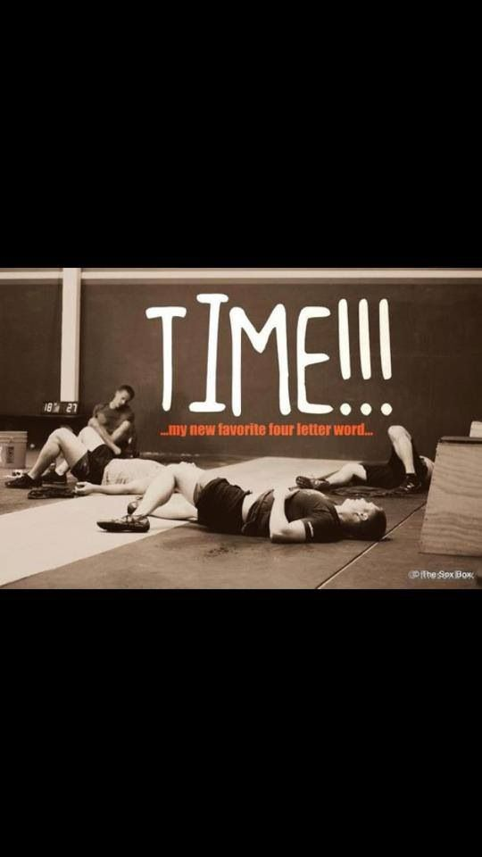 TIME!.....my new favorite four letter word