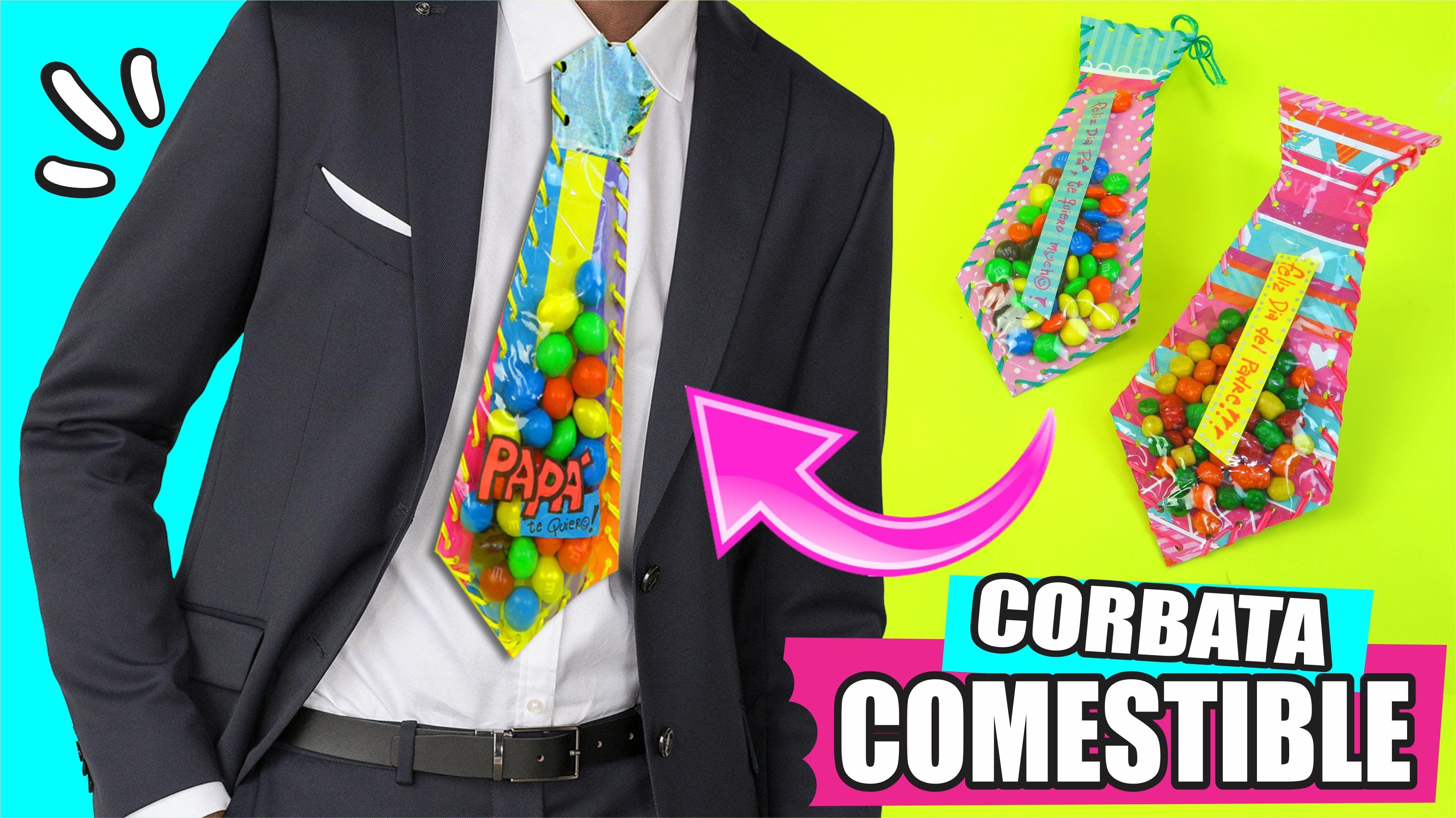 Corbata Comestible Para Papa Asi O Mas Facil Corbatas