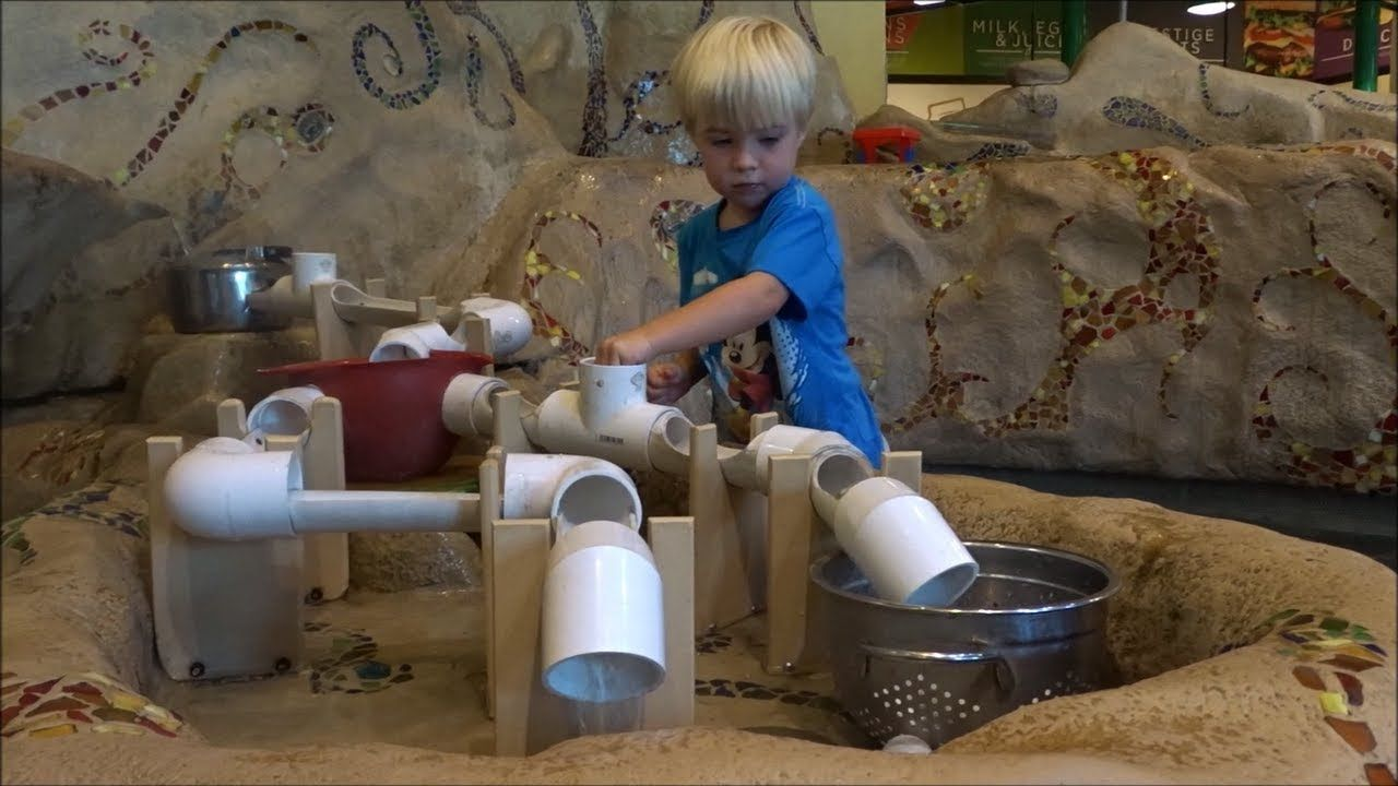 Max plays at the discovery gateway childrens museum in