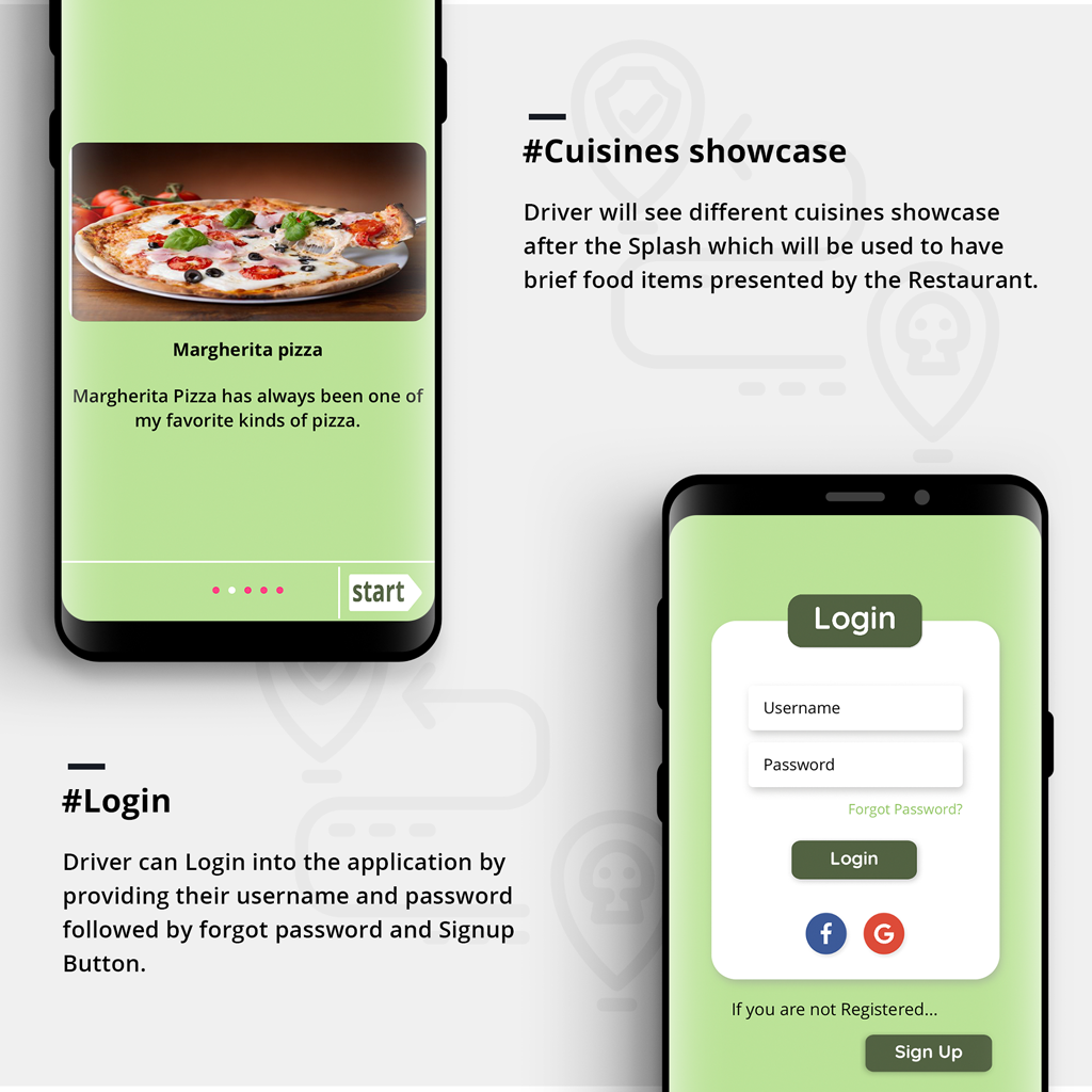 Restaurant and Food delivery Android Native Application