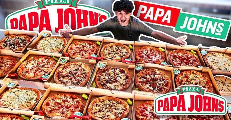 Papa John S Pizza Menu Papa Johns Pizza Papa Johns Pizza Menu