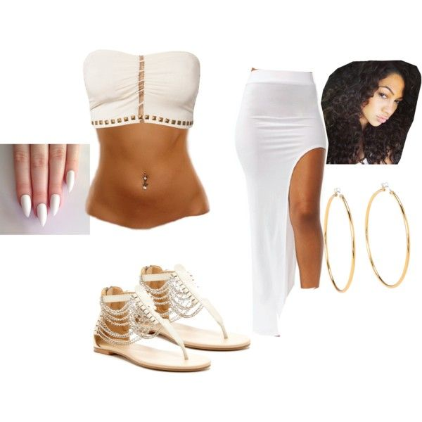 going out wit ma man by trillestmuthafucka on Polyvore featuring polyvore, beauty, Juicy Couture, F.A.V and N.Y.L.A.