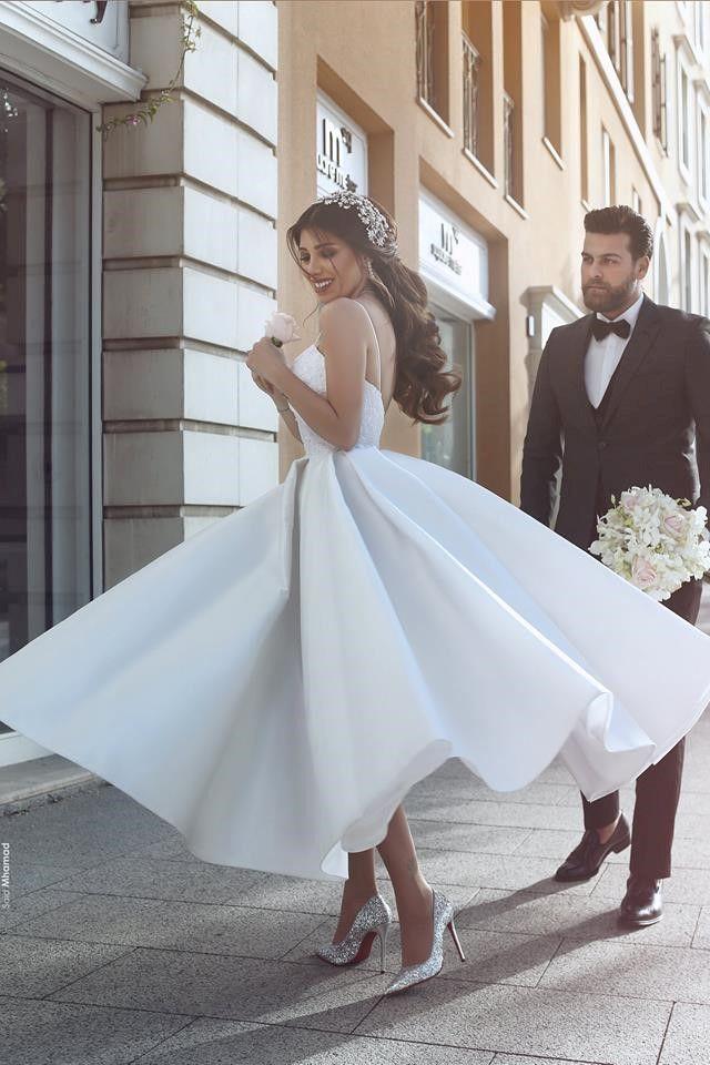 Short and Tea Length Wedding Dresses : 10 Prettiest Wedding Dresses ...