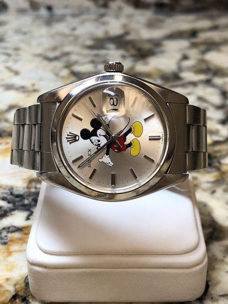 acc24a365edd3c rolex 6694 con quadrante di Topolino | orologeria | Rolex, Rolex watches e  Rolex wrist watch