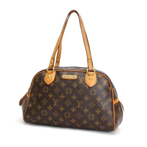 Louis Vuitton Montorgueil PM Monogram Shoulder bags Brown Canvas M95565