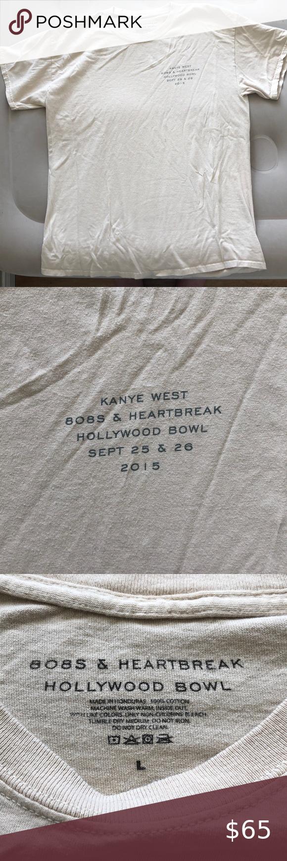 Kanye West 808s And Heartbreak Tour Merch T Shirt In 2020 Tour Merch Kanye West Kanye