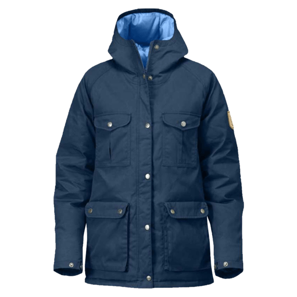 Greenland Down Jacket in Uncle Blue by Fjallraven | for him