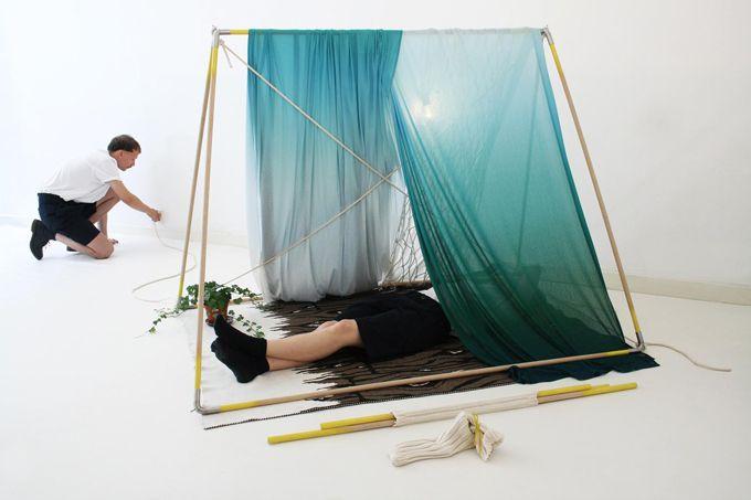 indoor tent!