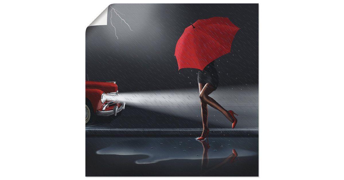 Artland Kunstdruck Poster »Mausopardia: Verregneter Tag« online kaufen | OTTO