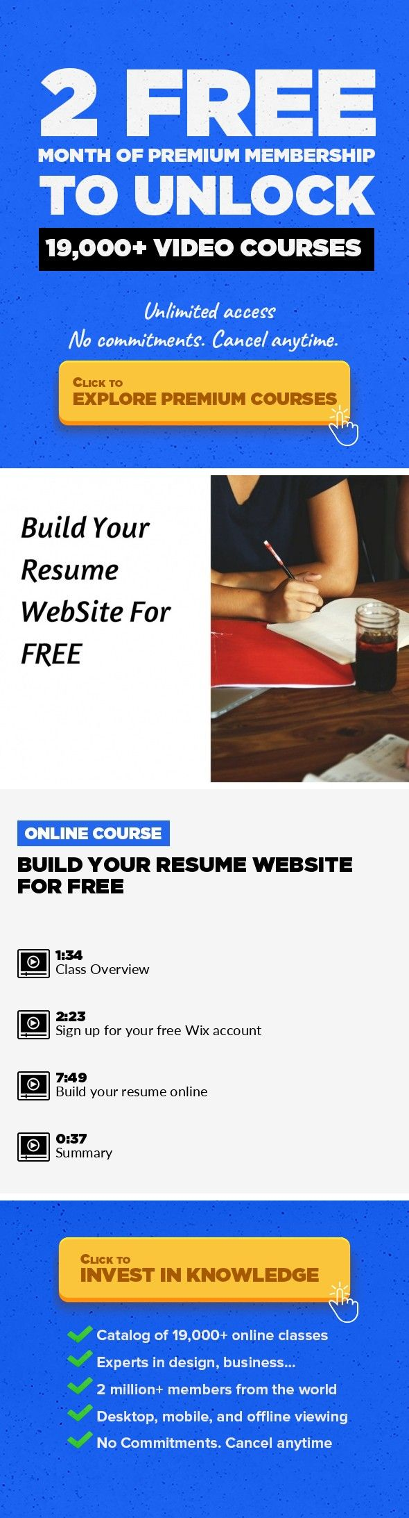 How To Build A Resume Free Build Your Resume Website For Free Entrepreneurship Business Human .