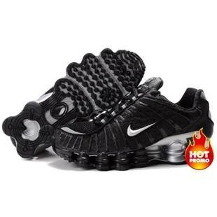 www.asneakers4u.com Mens Nike Shox TL1 Black Grey Silver