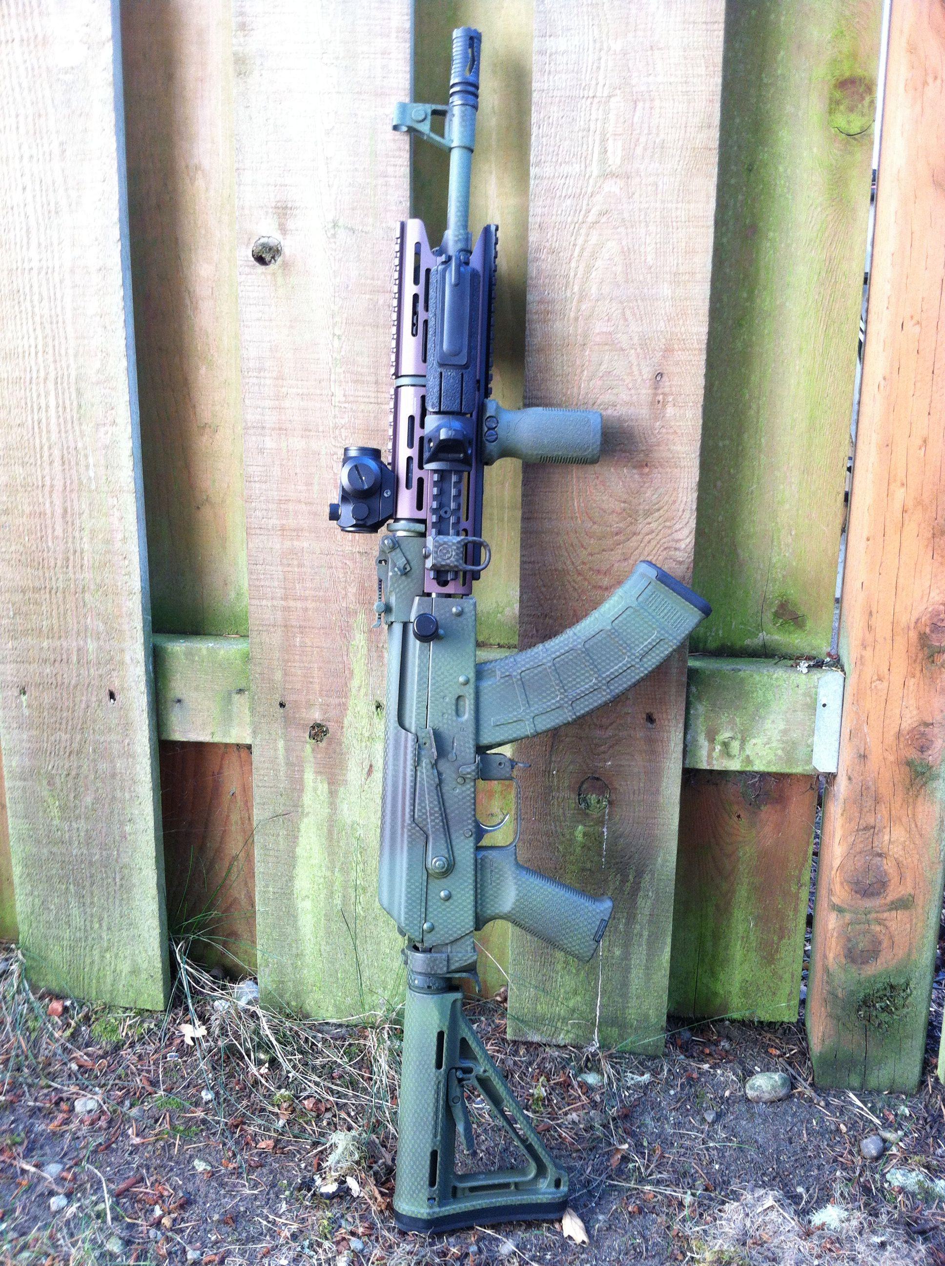 MAK-90 AK47 Variant, Strike Industries TRAX Combo Keymod