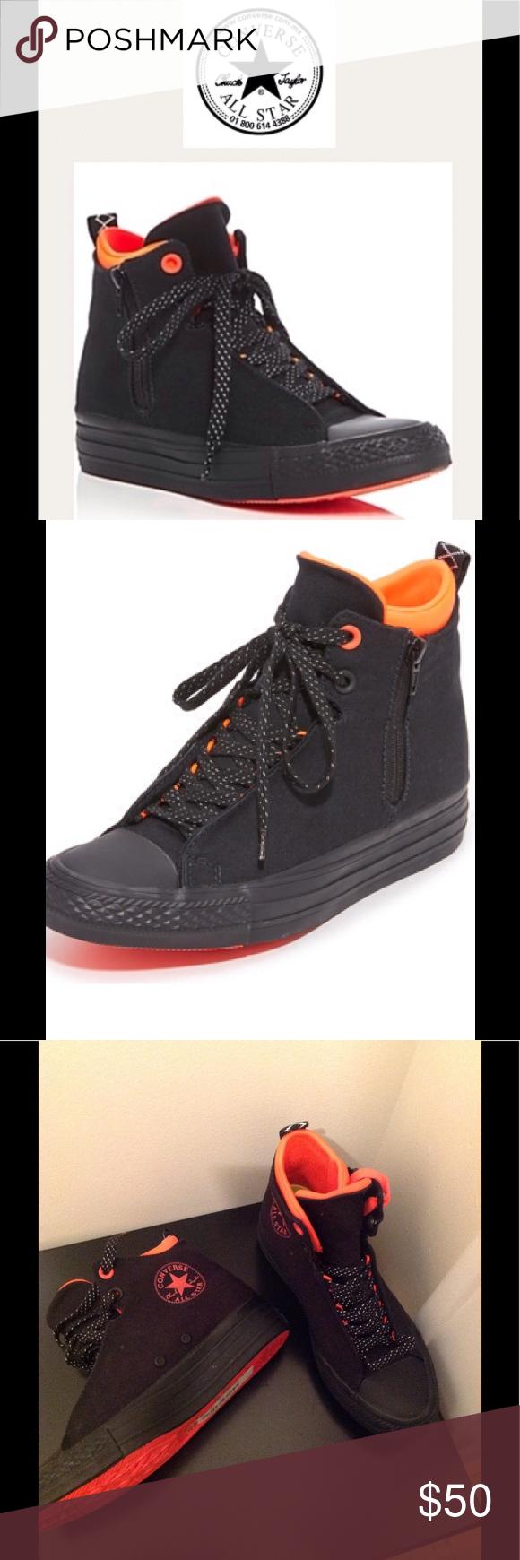 0720189f5327 NEW Chuck Taylor Selena bicolor high-top sneakers. NEW Chuck Taylor Selena  bicolor high-top sneaker set on rubber platform