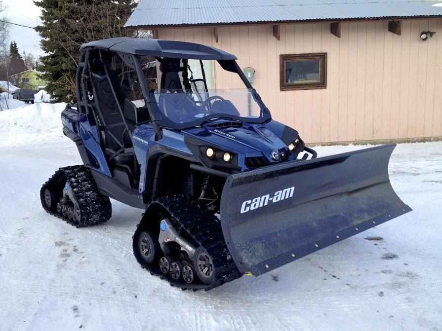 can am commander on tracks w plow adrenaline capsules pinterest atv 4x4 and snow plow. Black Bedroom Furniture Sets. Home Design Ideas
