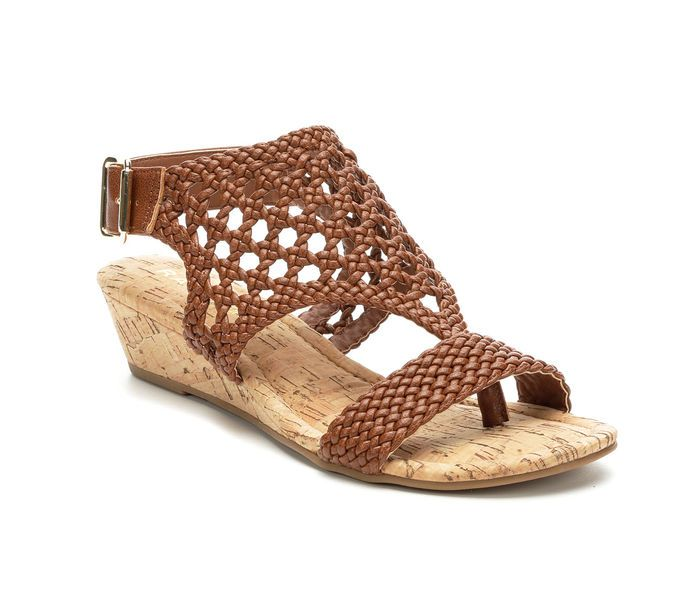 Women\u0027s Rampage Shawna Wedge Sandals