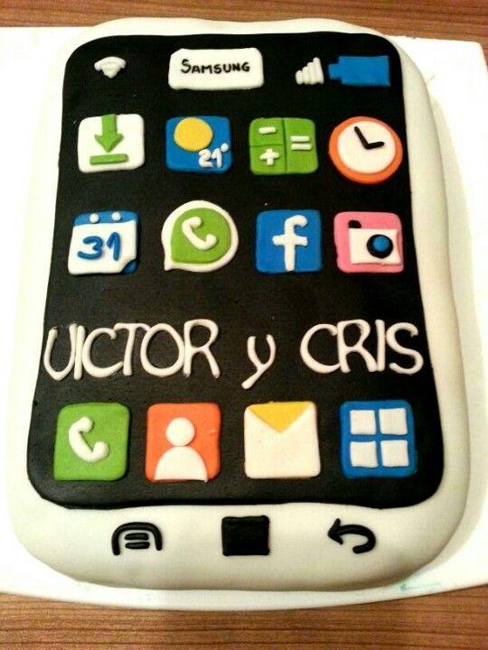 Tarta Smartphone Smartphone Cake Motivtorten Motive Torten