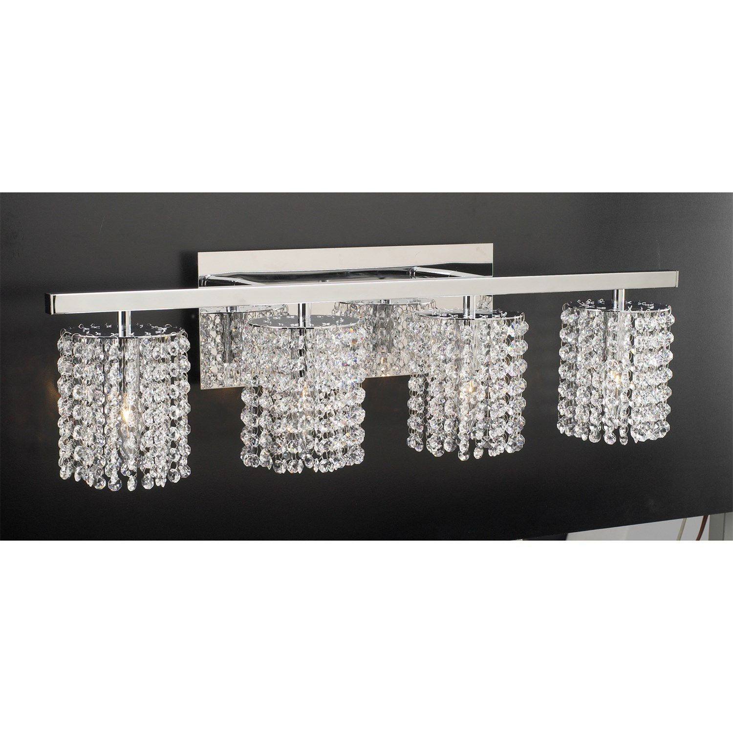 PLC Lighting 72196PC Rigga 4 Light Bathroom Vanity Light Fixture in ...