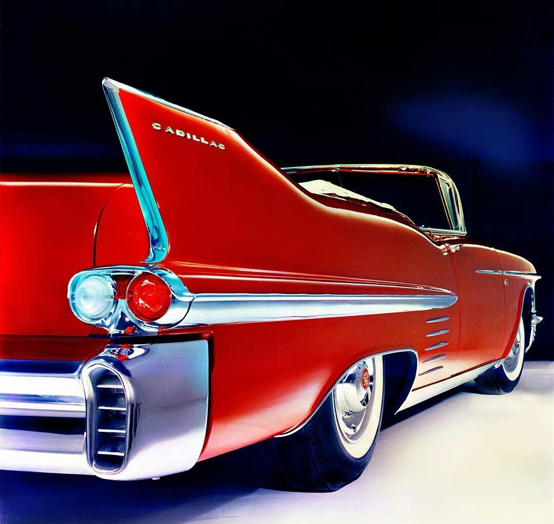 The Symbol Of An Era A 1958 Cadillac Series Sixty Two C