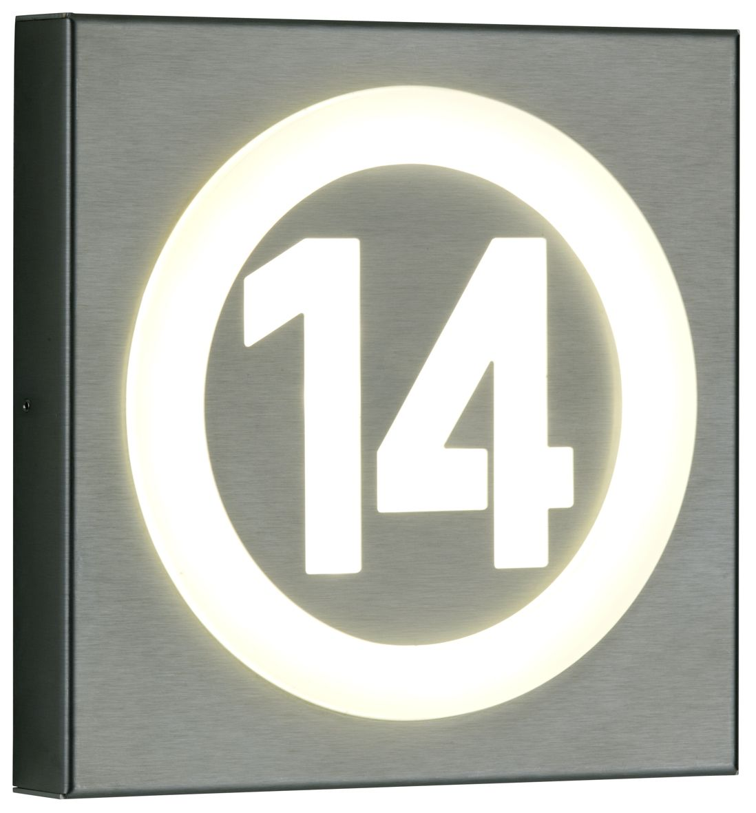 696016 Albert Led Hausnummernleuchte House Number Light Lamp With House Number Entrance Edelstahl Stainless Steel In Albert Leuchten Leuchten Hausnummern