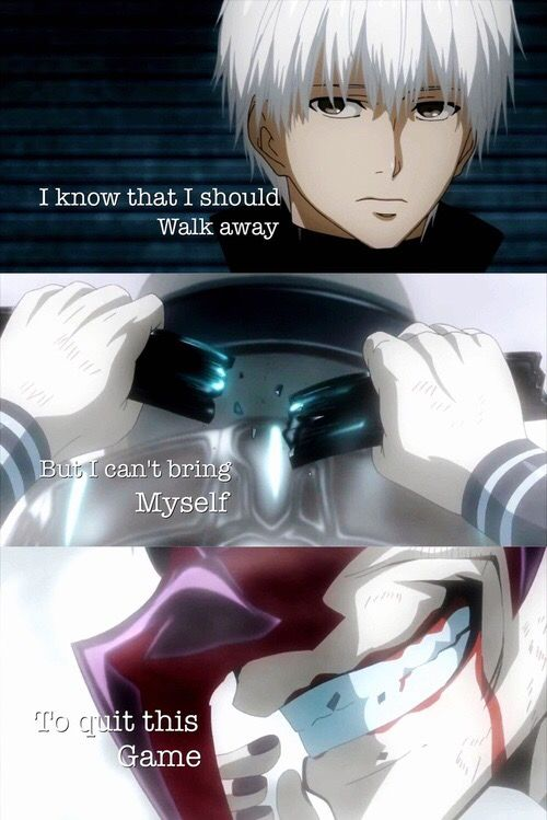 Anime Quote || Tokyo Ghoul