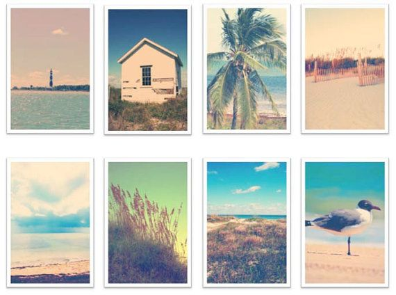2015 Customizable Calendar Vintage Beach Photography by RebelPhoto! Can't wait to order my 2015 Calendar, what an awesome stocking stuffer!