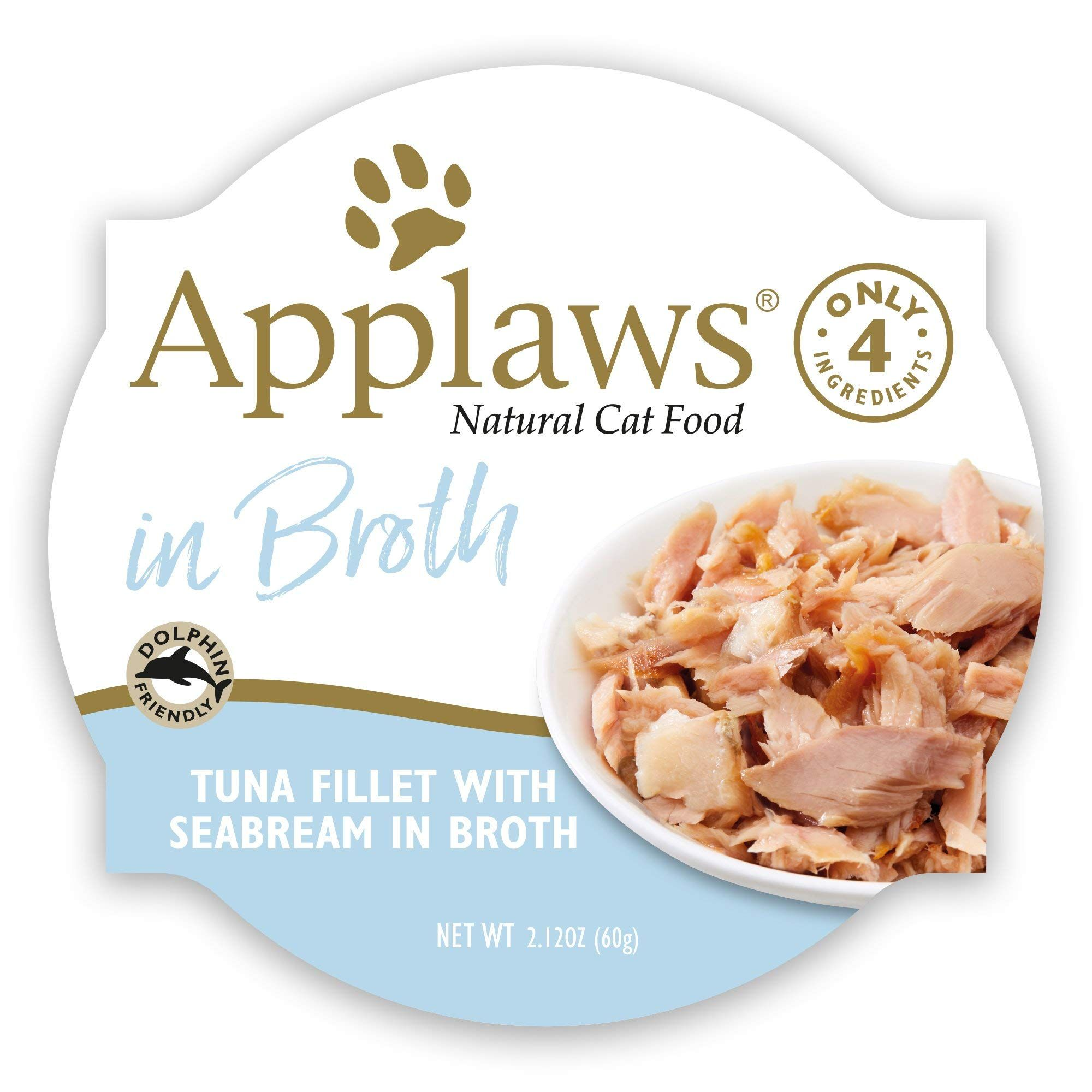 Applaws Fillet Seabream Broth Serve In 2020 Natural Cat Food Wet Cat Food Tuna Fillet