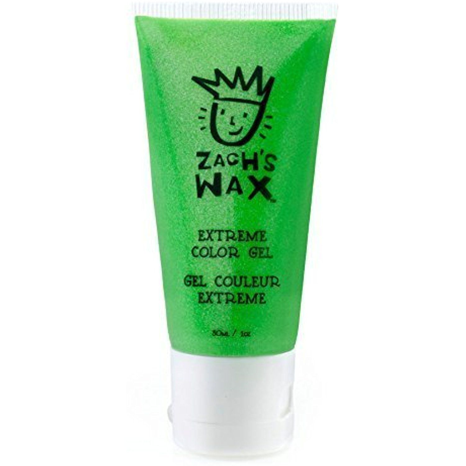 Zachs Wax Temporary Hair Color Gel Neon Green Read More