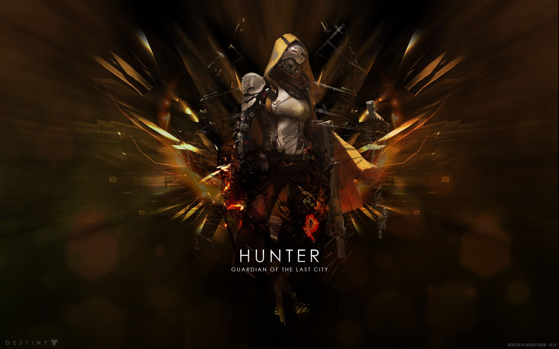 Destiny Hunter Hd Wallpaper Awesome This Game Is Fulllly