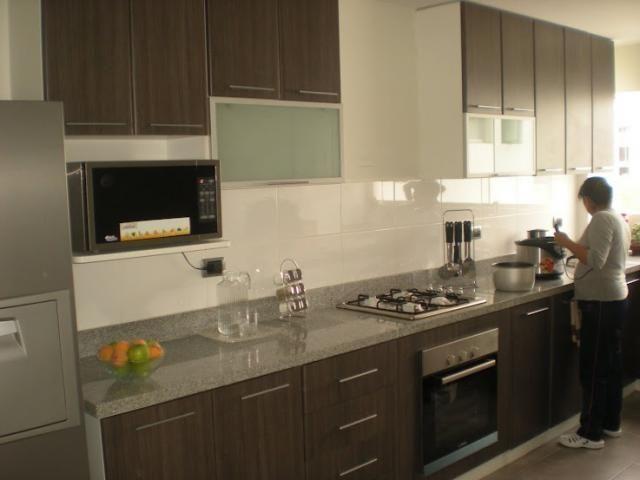 Cocinas con muebles de melamina buscar con google cocina pinterest searching - Buscar muebles de cocina ...