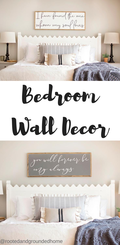 bedroom wall decor master bedroom