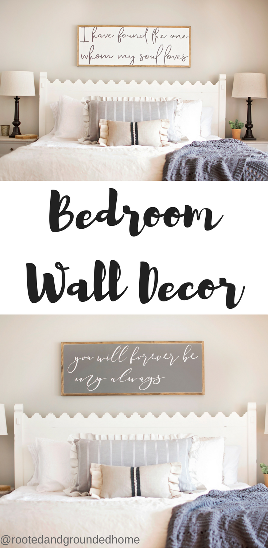 BEDROOM WALL DECOR  master bedroom  bedroom for couples