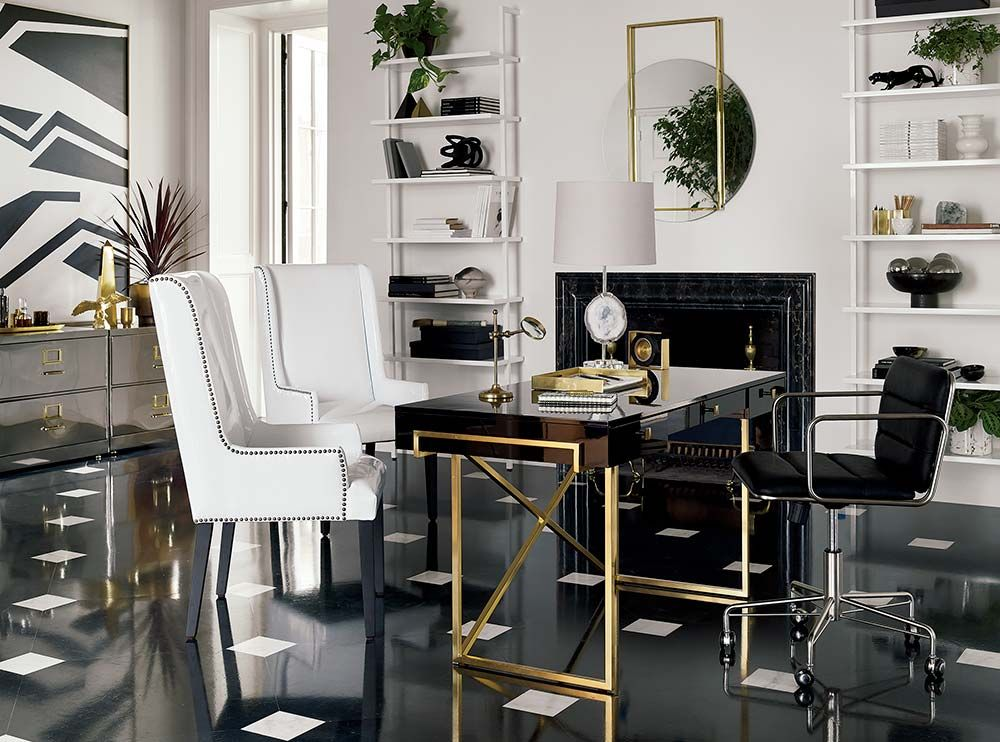 Modern Home Decor Ideas Home Office Furniture Modern Home Office Gold Office Chair